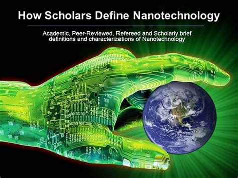 How Scholars Define Nanotechnology Authorstream Nanotechnology Ppt Template