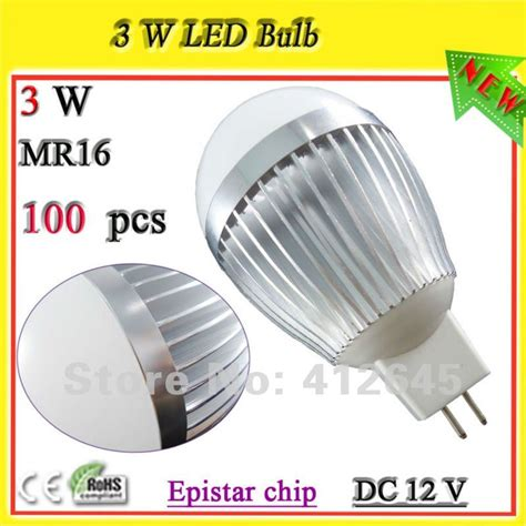 Free Shipping 12v Mr16 Led Globe Ball Bulb L Low Low Watt Led Light Bulbs