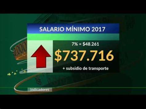 aumento del smlv en colombia 2016 salario minimo 2016 aumento del salario m 237 nimo para 2016