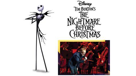 danny elfman nightmare before christmas hollywood bowl tim burton s the nightmare before christmas live with