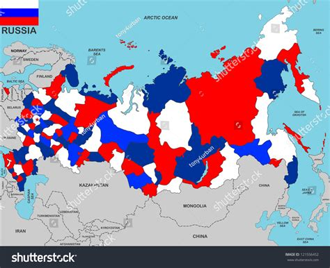 russia map size russia map size