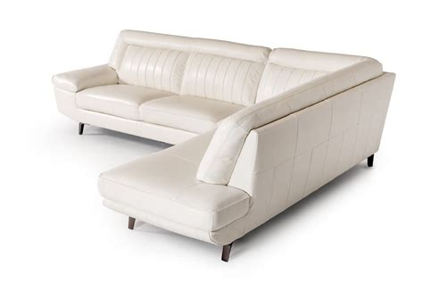 sofas galway divani casa galway modern white leather sectional sofa