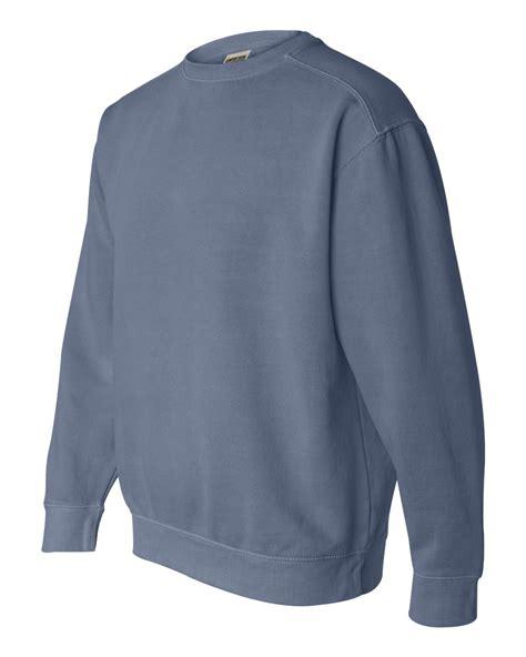 comfort colors sweatshirts comfort colors mens pigment dyed crewneck sweatshirt