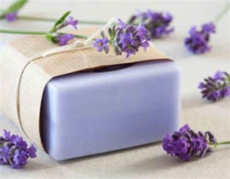 Handmade Lavender Soap Recipe - how to make your own lavender soap