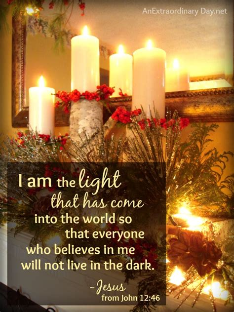 i am the light that has come merry christmas an