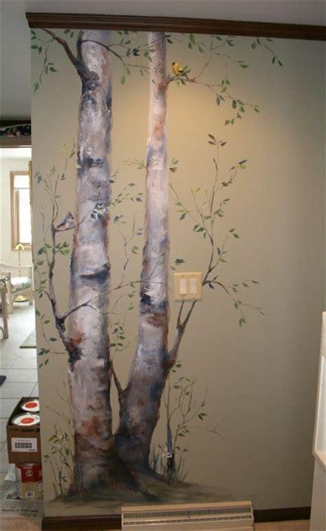 how to paint a wall mural 1000 id 233 es sur le th 232 me pochoirs de mur d arbre sur