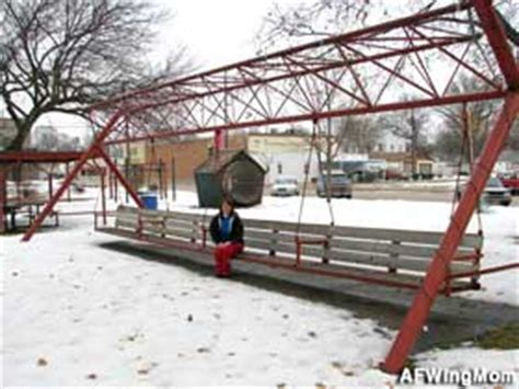 largest swing hebron ne world s largest covered porch swing