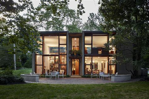 esherick house louis kahn s margaret esherick house wins national modernism award curbed philly