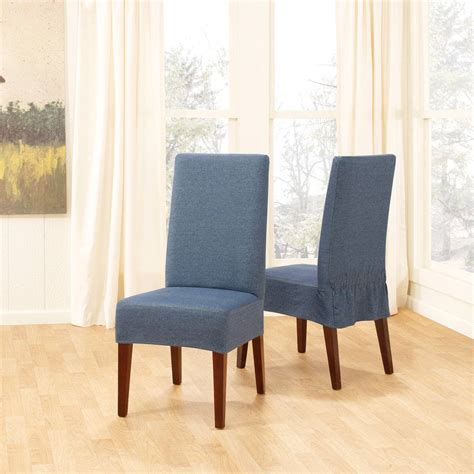 Kitchen Chair Slipcovers by Change The Mood With Kitchen Chair Slipcovers My Kitchen