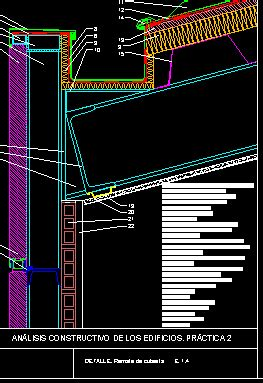 facade  panel sandwich deck roof dwg block  autocad