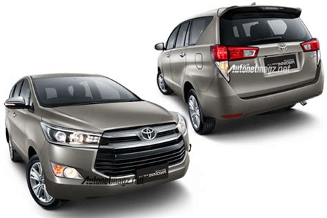All New Innova Grille Depan Activo Front Grille Activo All New Kijang Innova Official Photo Released Autonetmagz