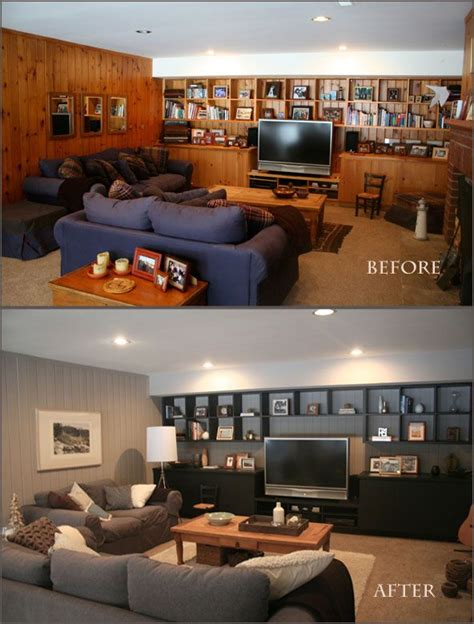 how to paint paneling binkies and briefcases paneling makeover on pinterest wood paneling makeover