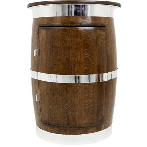 Whiskey Barrel Cabinet by Drinks Cabinet Cask