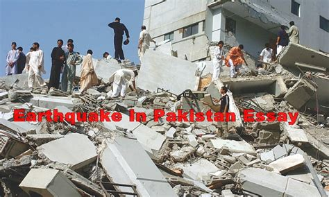 Pakistan Earthquake 2005 Essay by Essay Earthquake In Pakistan 2005