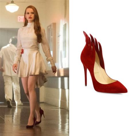 madelaine petsch pink cheryl blossom madelaine petsch wears these suede red