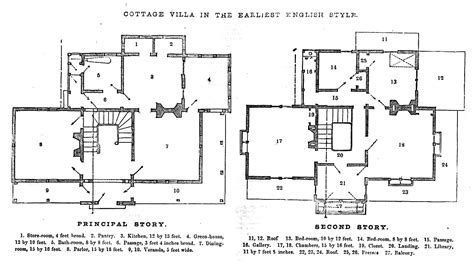 architectural floor plan drawings greenberg godey s lady s book drawing instruction and