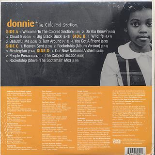 donnie the colored section donnie the colored section lp step 中古レコード通販