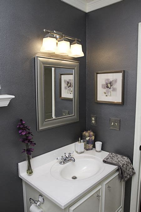 bathroom colour scheme ideas 25 best ideas about gray bathroom walls on simple bathroom makeover purple