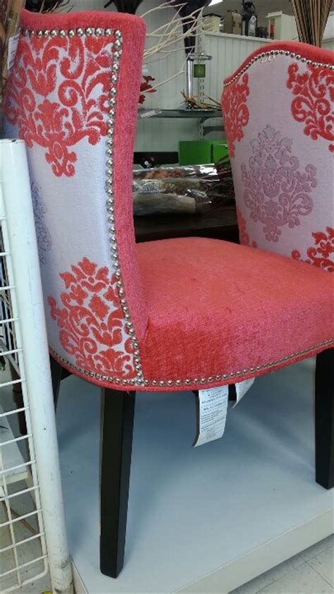 Cynthia Rowley coral chairs. Want them in an all white