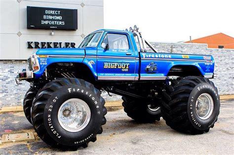 the original bigfoot monster 9 besten monster trucks ii bilder auf pinterest monster