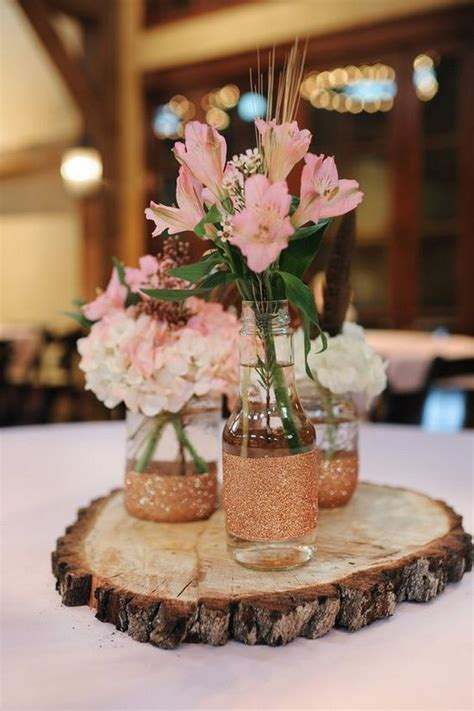 rustic centerpieces 100 country rustic wedding centerpiece ideas tree stump