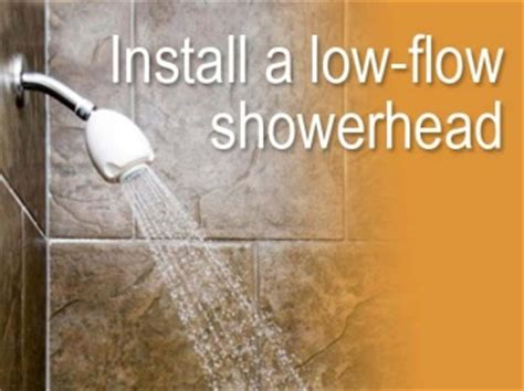 Low Flow Shower Savings by Searcy Water Utilities