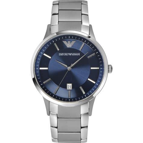 ar2477 emporio armani mens classic blue silver