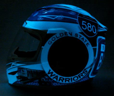 glow in the paint on motorcycle custom painted helmet gallery glow in the bay area