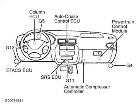 2003 Mitsubishi Galant Blower Motor Air Conditioning