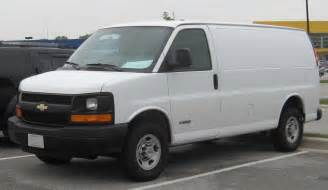 2007 Chevrolet Express Cargo 2007 Chevrolet Express Cargo Information And Photos