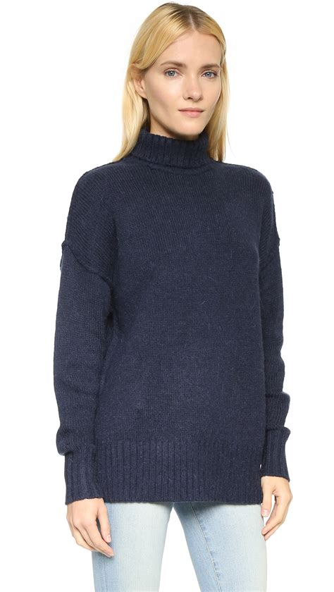 Blue Turtleneck by Navy Blue Turtleneck Sweater Womens Sweater Vest