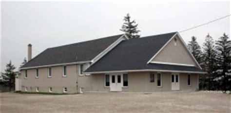 Mennonite Sheds Ontario by Cedar Grove Amish Mennonite Church Wellesley Ontario