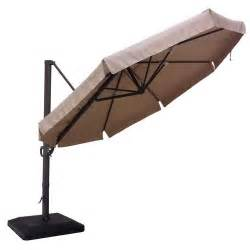 Backyard Creations Cantilever Umbrella Replacement Canopy For 2014 11ft Offset Umbrella Garden Winds