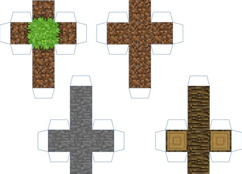 Mine Craft Paper - paper minecraft block cutouts www pixshark images