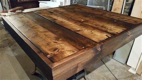 homemade coffee table made from stained wood and pipe diy storage able pallet coffee table pallet furniture diy