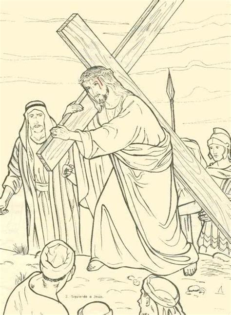 imagenes del via crucis en blanco y negro via crucis para nios