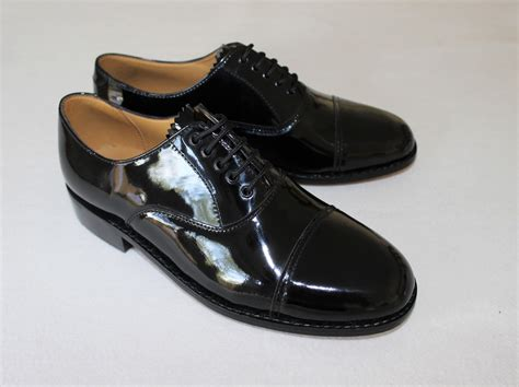 oxford leather shoes oxford shoes patent black leather the marching