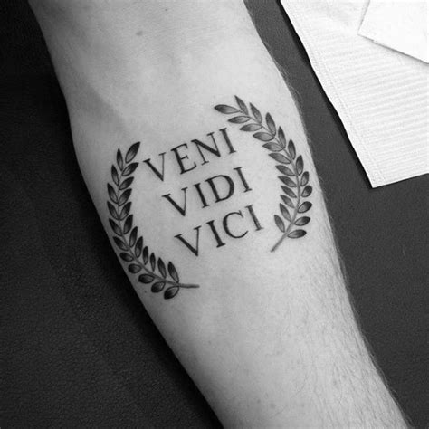 conquer tattoo best 25 veni vidi vici ideas on conquer