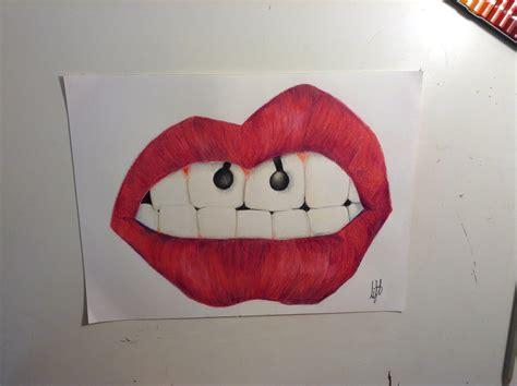 imagenes tumblr labios c 243 mo dibujar unos labios realistas con piercing youtube
