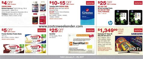 Promo 85k Get 3 Novel 1 current costco coupon book january 2017 costco weekender