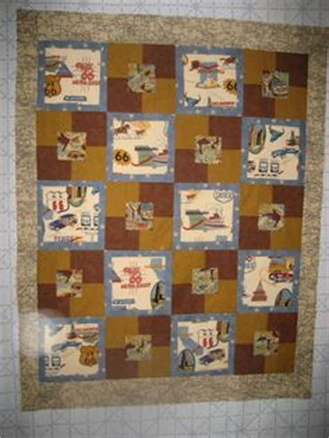 Route 66 Quilt Pattern by 1000 Images About Route 66 On Quilt Fabrics