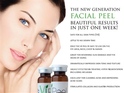 vipeel in fredericksburg va the dermatology center