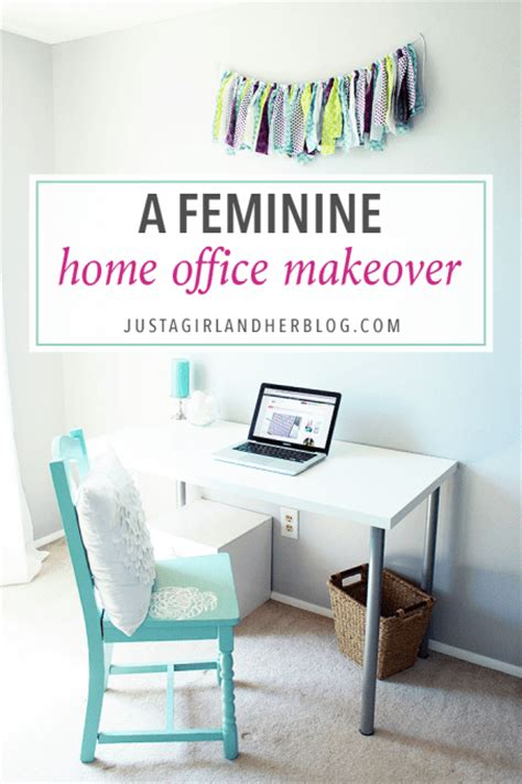 home office makeover fabulously feminine home office makeover scrap booking