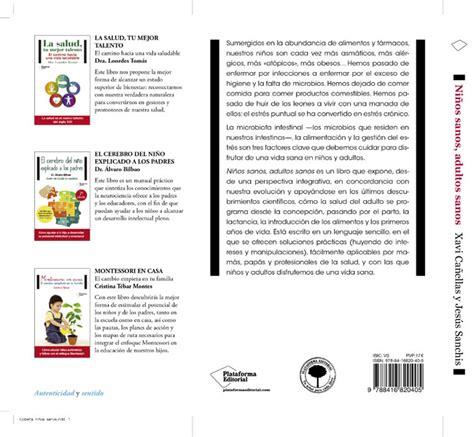 libro nios sanos adultos sanos ni 241 os sanos adultos sanos entrevista a jes 250 s sanchis coautor del libro r 224 dio vall de seg 243