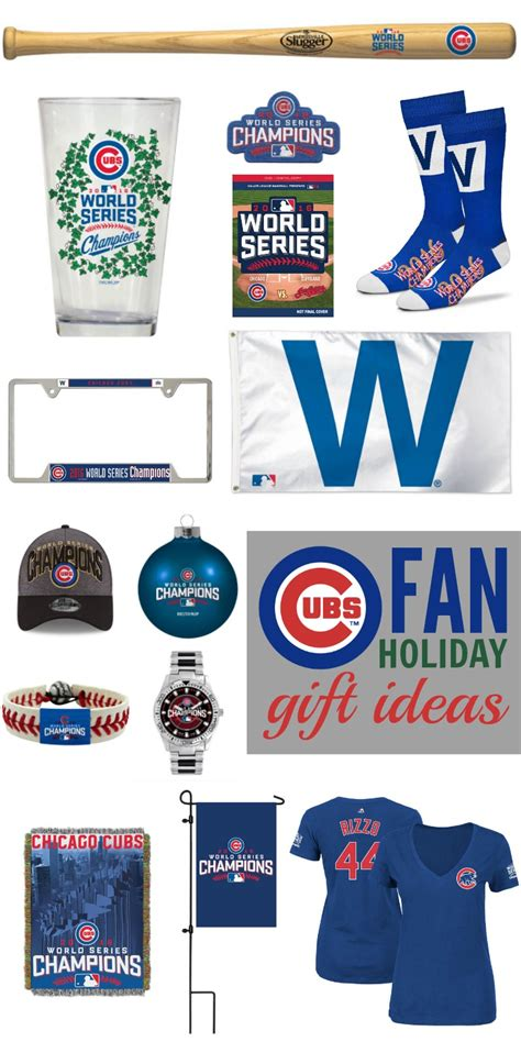 gifts for cubs fans cubs fan holiday gift ideas shop with unclaimed funds