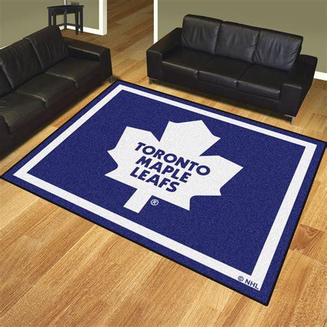 Toronto Maple Leafs 8 X 10 Area Rug Toronto Rugs