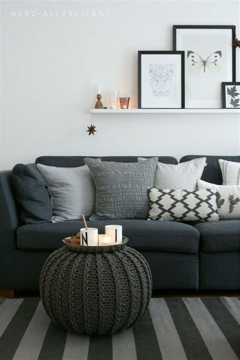 grey sofa cushion ideas gray neutral living room haus pinterest