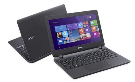 Harga Acer Aspire Es1 132 jual acer aspire es1 132 celeron n3350 win 10 black
