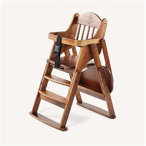 High Chairs Wooden by Compare Prices On Folding Wooden Highchair