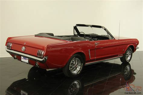 1964 mustang convertible for sale ford mustang convertible